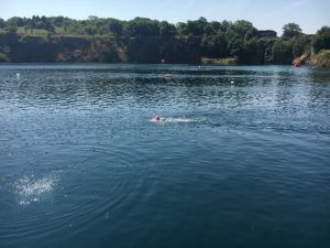 capernwray dive centre- open water swimming venue